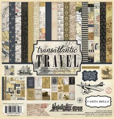 Carta Bella Transatlantic Travel 12 x 12 Collection Kit
