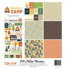 Echo Park Summer Camp 12 x 12 Mini Collection Kit
