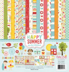 Echo Park Happy Summer 12 x 12 Collection Kit