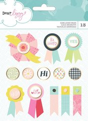 American Crafts Dear Lizzy Happy Place Collection - Brads