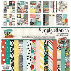 Simple Stories Life in Color 12 x 12 Collection Kit