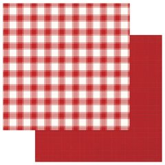 PhotoPlay Mad 4 Plaid Christmas Solids and Red Check