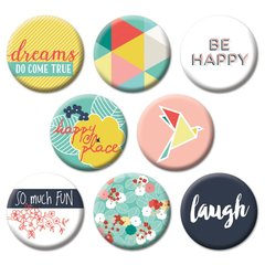 Happy Place Flair Buttons