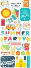 Echo Park Summer Party 6 x 13 Chipboard