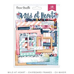 Cocoa Vanilla Studio Wild at Heart Chipboard Frames