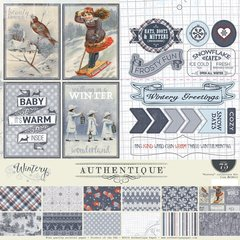 Authentique WINTERY 12 x 12 Collection Kit