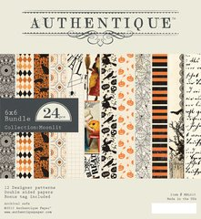 Authentique Moonlit 6 x 6 Double Sided Cardstock Pad