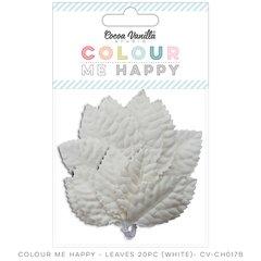 Cocoa Vanilla Colour Me Happy White Leaves