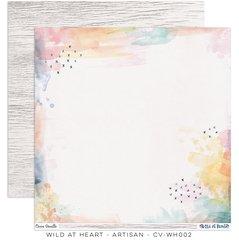Cocoa Vanilla Studio Wild at Heart 12 x 12 Card Stock Artisan