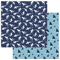 PhotoPlay Shark Attack Shark Bait 12 x 12 Cardstock