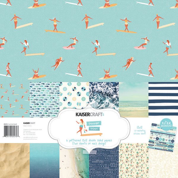 Kaisercraft Summer Splash 12 x 12 Collection Kit