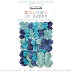Cocoa Vanilla Colour Me Happy Cool Blue Blossoms