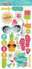 PhotoPlay Summer Daydreams 6 x 12 Chipboard
