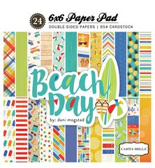 Carta Bella Beach Day 6 x 6 Paper Pad
