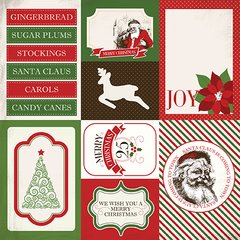 Have a Merry Christmas 4 x 6 Journaling Cards Paper
