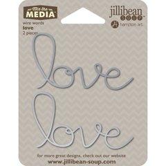 Jillibean Soup Wire Words - Love