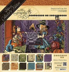 Graphic 45 - Halloween in Wonderland Collection - 12 x 12 Papercrafting Set