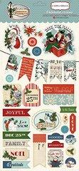 Christmas Wonderland 6 x 13 Chipboard Stickers