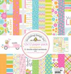 Doodlebug Design Spring Garden 12 x 12 Paper Pack