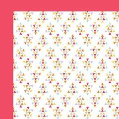 Fancy Pants Summer Sun 12 x 12 Double Sided Cardstock Sandcastles