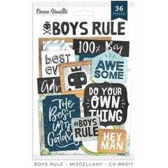 PRE ORDER Cocoa Vanilla Studio Boys Rule Miscellany