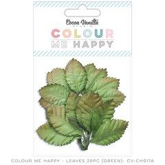 Cocoa Vanilla Colour Me Happy Green Leaves