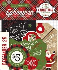 Echo Park A Perfect Christmas Ephemera