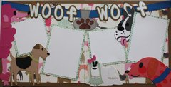 Woof Woof Layout Kit by Scrapbooking with Mrs.C