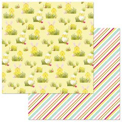 PhotoPlay Hoppy Easter Egg Hunt 12 x 12 Card Stock