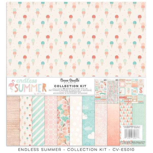 Cocoa Vanilla Endless Summer 12 x 12 Collection Kit