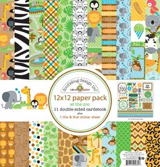 Doodlebug Design At The Zoo 12 x 12 Paper Pack