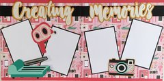 Creating Memories Layout Kit by Scrapbooking with Mrs. C