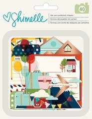 Shimelle American Crafts Go Now Go Collection Ephemera with Foil Accents 375275