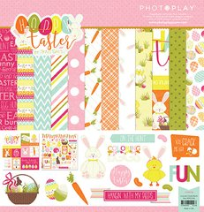 PhotoPlay Hoppy Easter 12 x 12 Collection Pack