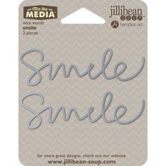 Jillibean Soup Wire Words - Smile
