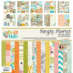 Simple Stories You Are Here 12 x 12 Collection Kit