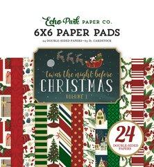 Echo Park Twas the Night Before Christmas Vol. 1 6 x 6 Pad