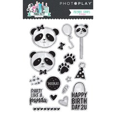 PHOTOPLAY CAKE PANDA PARTY Stamps