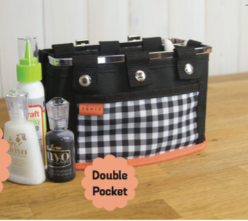 Table Tidy Double Pocket by Tonic Studios 1645e