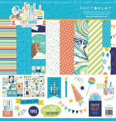 PhotoPlay Cake Party Animal 12 x 12 Collection Kit