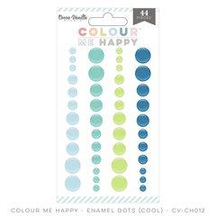Cocoa Vanilla Colour Me Happy Cool Enamel Dots