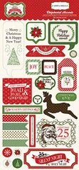Have a Merry Christmas 6 x 13 Chipboard Stickers