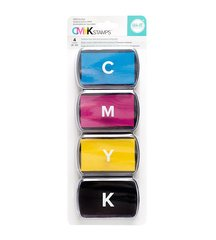 We R Memory Keepers - Ink Pad Set - CMYK - Cyan, Magenta, Yellow and Black