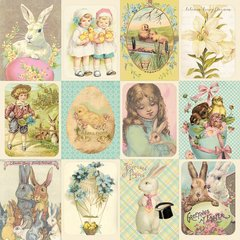 Authentique Springtime 12 x 12 Double Sided Cardstock Springtime Six