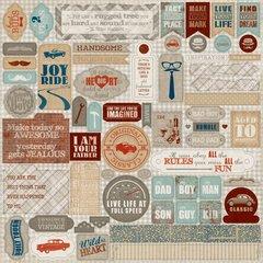 Durable 12 x 12 Details Sticker Sheet