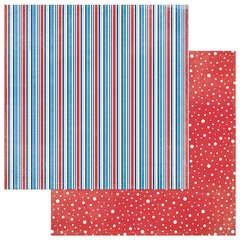 Photoplay Main Street Parade 12 x 12 Double Sided Cardstock Stripes