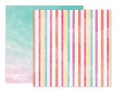 Pink Paislee Summer Lights 12 x 12 Double Sided Paper 9