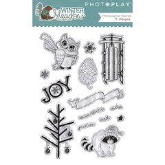 Photo Play Winter Meadow Clear Stamps