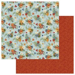 Photo Play Paper  Lakeside Collection -12 x 12 Double Sided Paper - Wildflowers