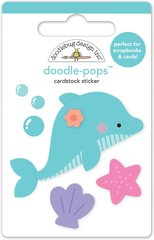 Doodlebug Design Under the Sea Doodle Pops Daisy Dolphin